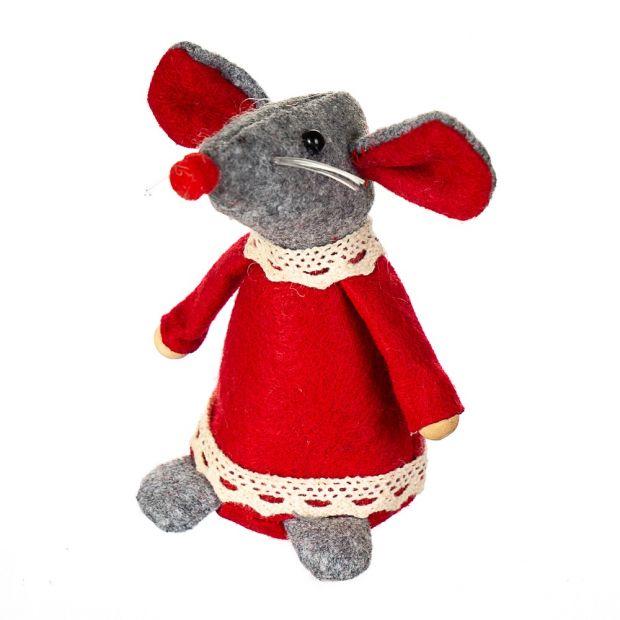 Мышка девочка, символ года 2020