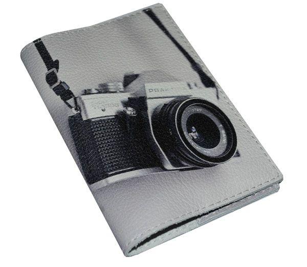 """Обложка для паспорта """"О чем мечтает фотограф"""" (натур. кожа)"""