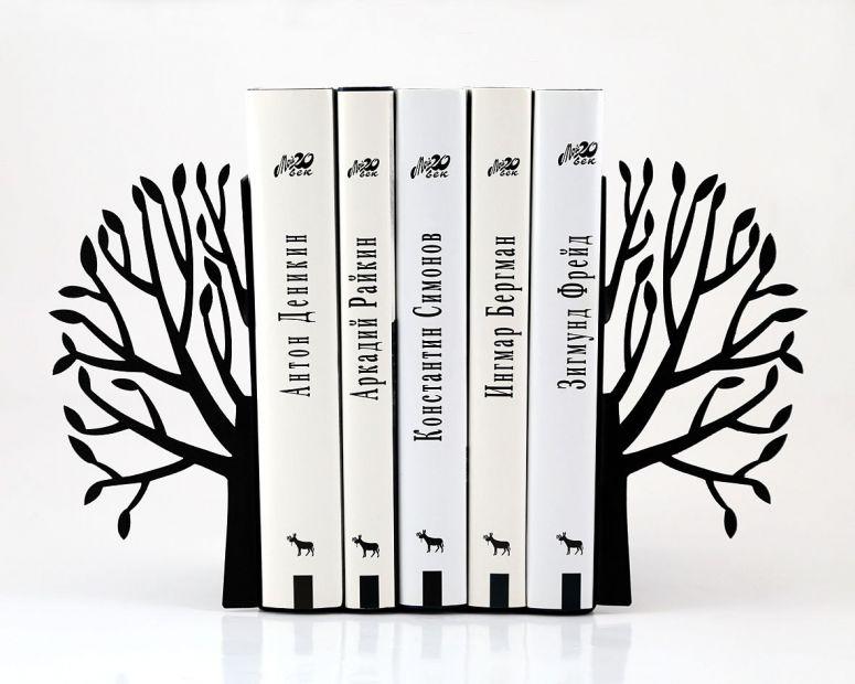 """Упор для книг """"Весна просыпается"""" (черная)"""