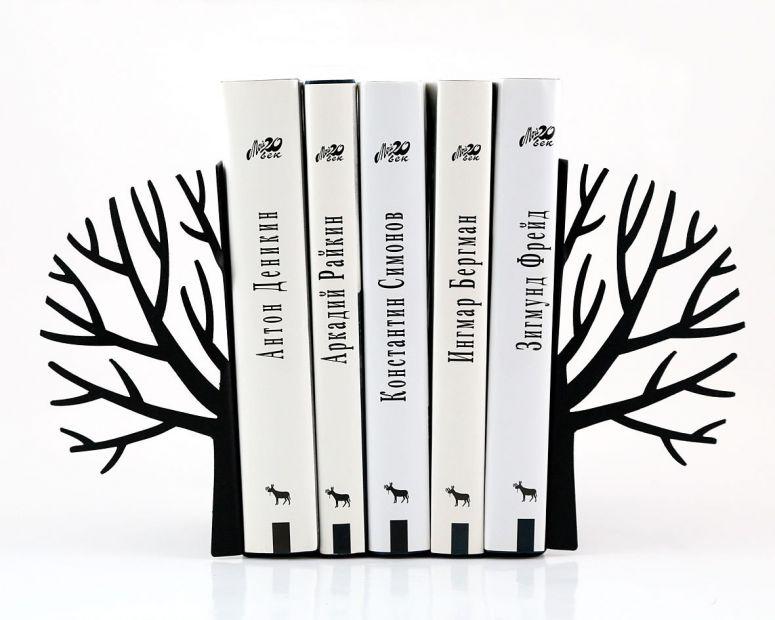 """Упор для книг """"Черные деревья зимы"""""""