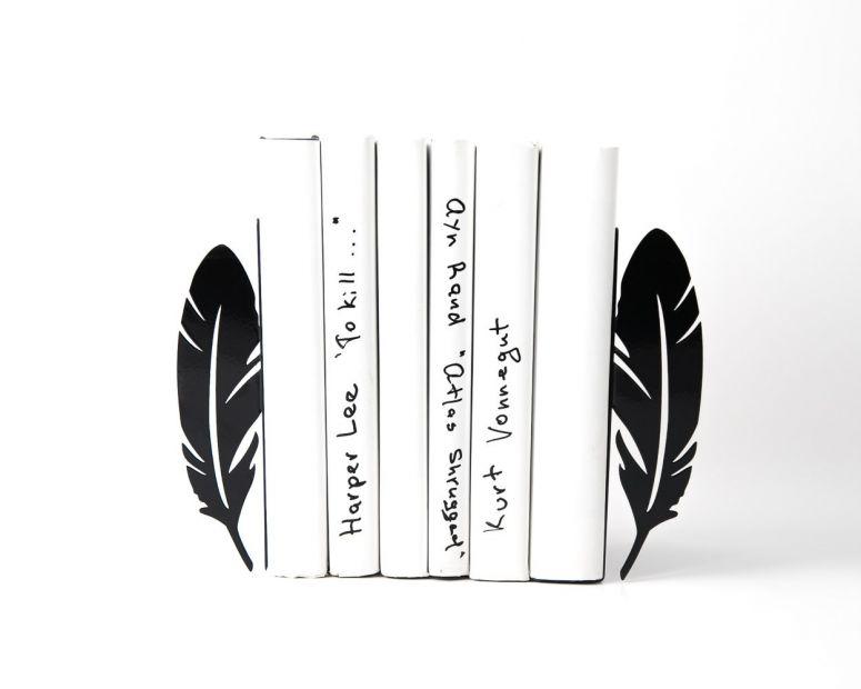 """Упор для книг """"Перья"""""""