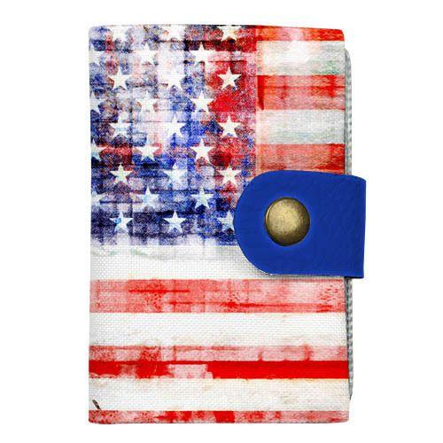 "Карманная визитница и кредитница ""Флаг США"""
