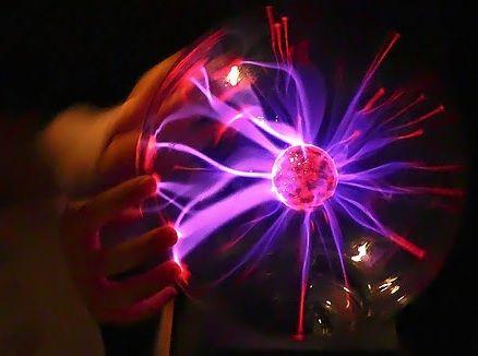 """Плазменный шар Теслы """"Большой"""", диаметр 15см"""