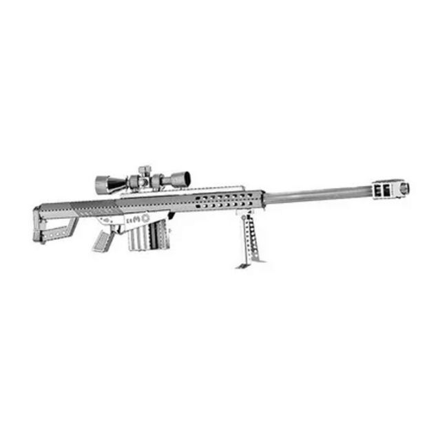 Ружье Беретта -3D модель для сборки, металлический конструктор