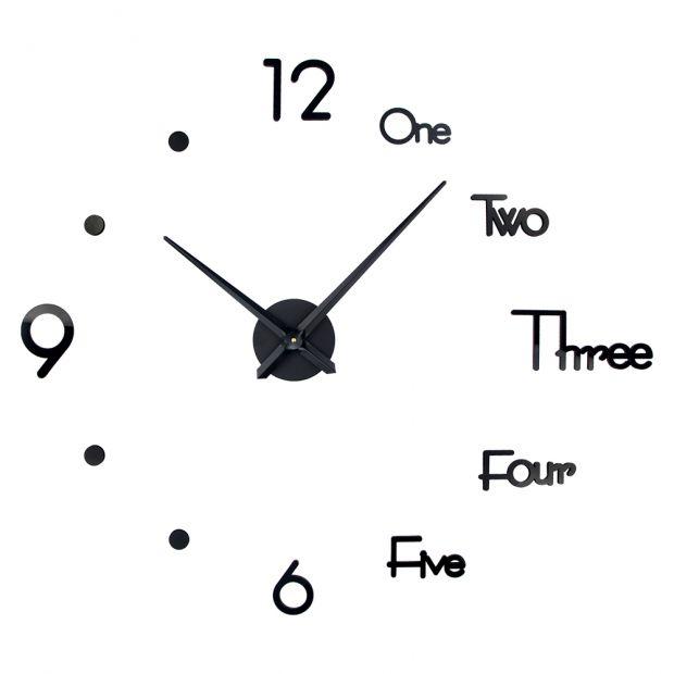 """Настенные 3D часы конструктор """"Лондон"""" 60 - 90 см"""