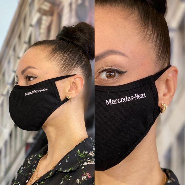 Хлопковая маска для лица с Вашим логотипом