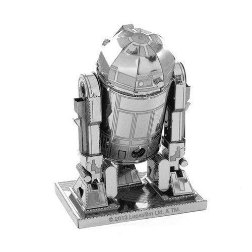 Легендарный R2D2 - 3D модель для сборки, металлический конструктор